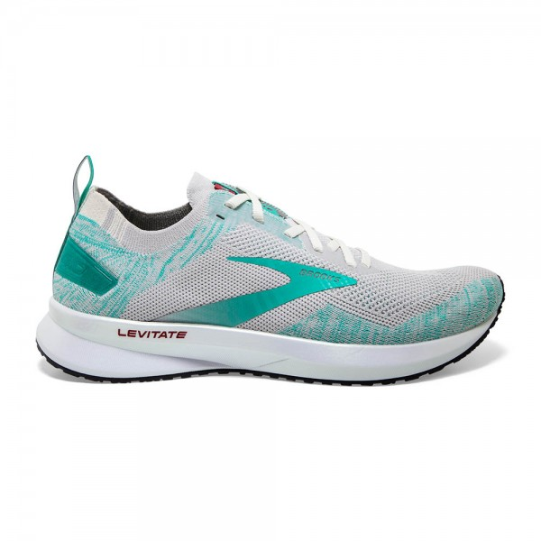 Brooks Levitate 4 Damen Laufschuh Neutral - 120335 1B 030 Antarctica/Atlantis/White