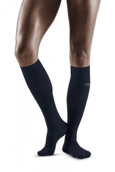 CEP Allday Recovery Socks Damen Kompressionsocke - Dunkelblau WP40Y6