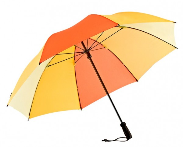 Euroschirm Swing handsfree - Der erste echte handfreie Trekking-Stockschirm - Regenschirm - gelb - W2H6 m - W2H6