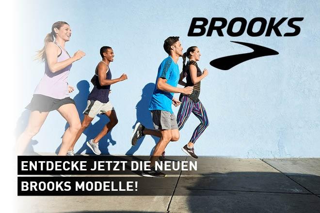 Entdecke jetzt die neuen Brooks- Modelle!