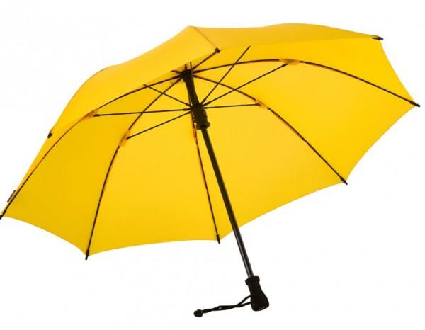 Euroschirm Birdiepal Outdoor - Der stabilste Trekkingschirm der Welt - Regenschirm für extreme Belastungen - Gelb W208