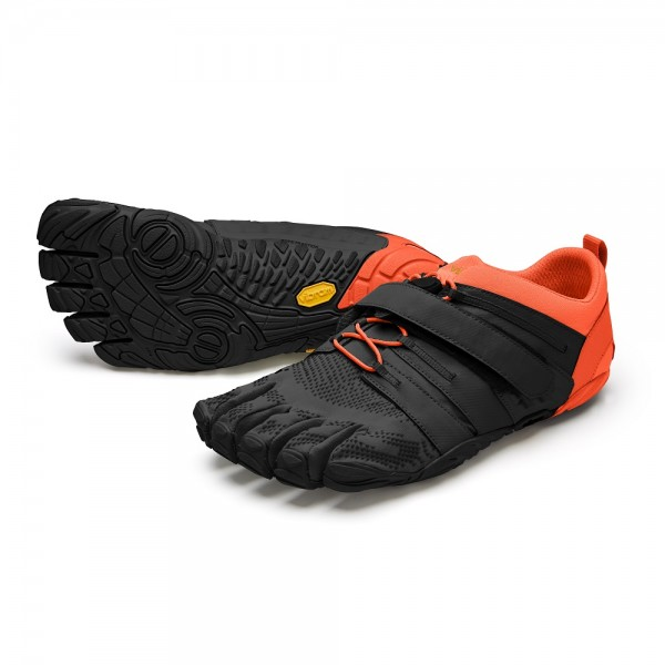 Vibram FiveFingers V-Train 2.0 Herren Fitness-Barfuss-Schuh 20M-7704 Schwarz-Orange