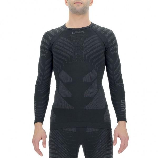 UYN Resilyon UW Shirt Herren Funktionsunterhemd LS - U100288-B014 Schwarz