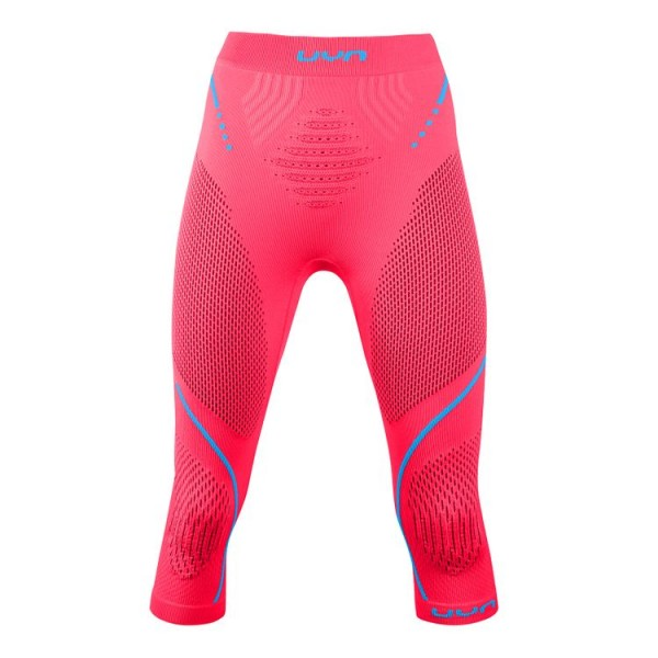 UYN Evolutyon UW Pants Damen Funktionsunterwäsche Medium - U100046 R614 Strawberry/Pink/Turquoise