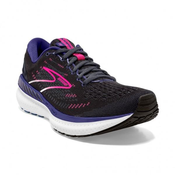 Brooks Glycerin GTS 19 Damen Laufschuh Stabilität 120344 1B 069 - Black/Ebony/Pink