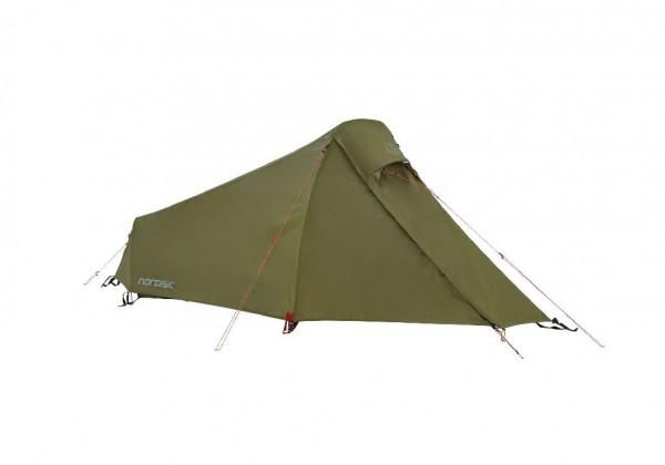 Nordisk Svalbard 1 PU Tent 1-Personenzelt - Farbe Dark Olive 122059