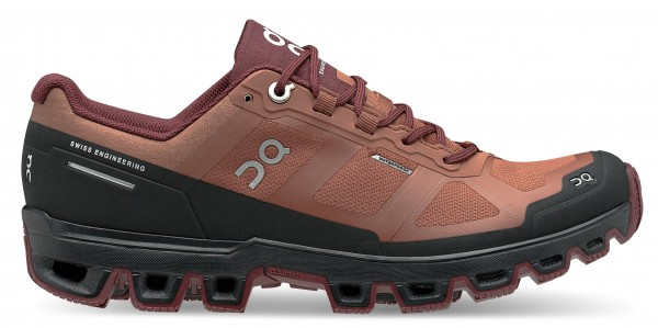On Cloudventure Waterproof Damen Laufschuh Trail - 22.99757 Hazel | Mulberry