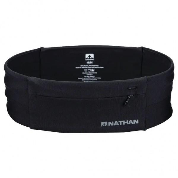 Nathan The Zipster Laufgürtel mit Reißverschluss Schwarz