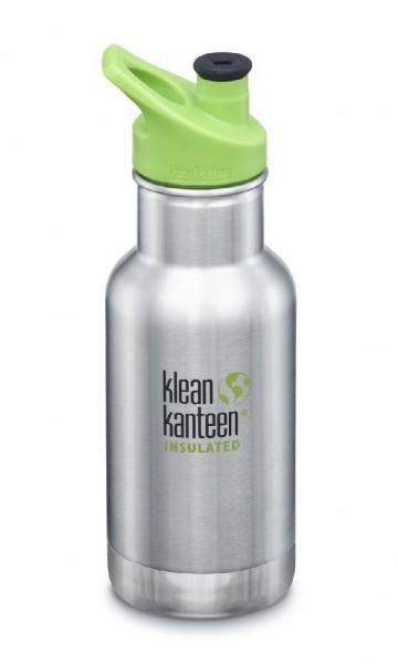 Klean Kanteen 355ml/12oz Trinkflasche Kid Kanteen isoliert mit Sport Cap 3.0 - 10058