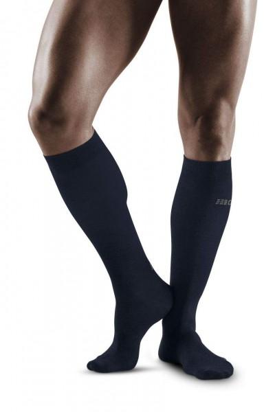 CEP Allday Recovery Socks Herren Kompressionsocke - Dunkelblau  WP50Y6