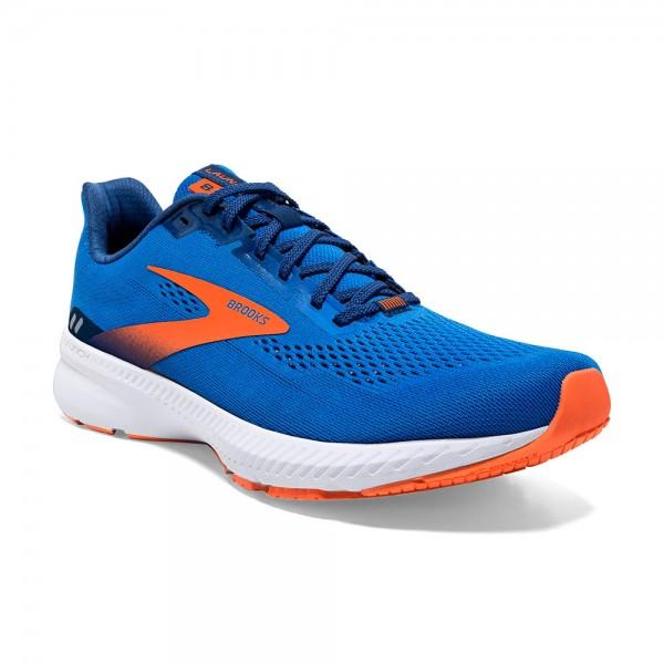 Brooks Launch 8 Herren Laufschuh Wettkampf - 110358 1D 463 Blue/Orange/White