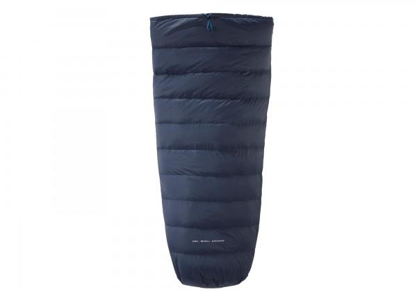 Nordisk Cosy Legs Daunen-Beinwärmer für den Schlafsack - Farbe Mood Indigo/Methyl Blue