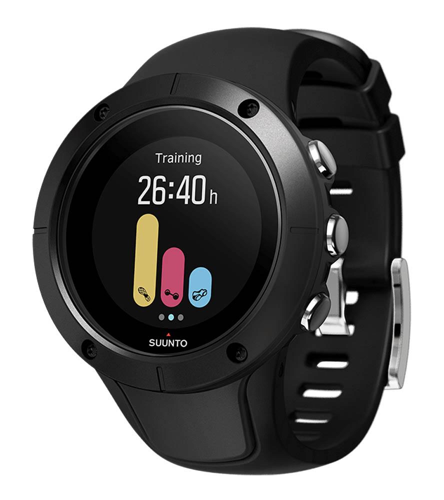 Suunto GPS-Uhr Spartan Trainer Wrist HR Schwarz