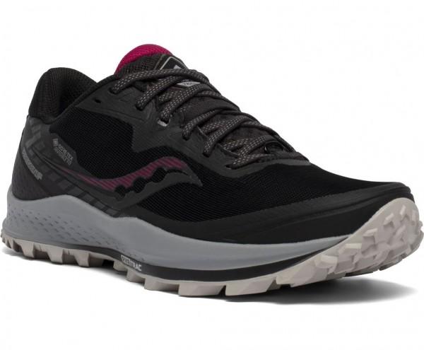 Saucony Peregrine 11 GTX Damen Laufschuh Trail - S10643-45 Farbe Black / Cherry