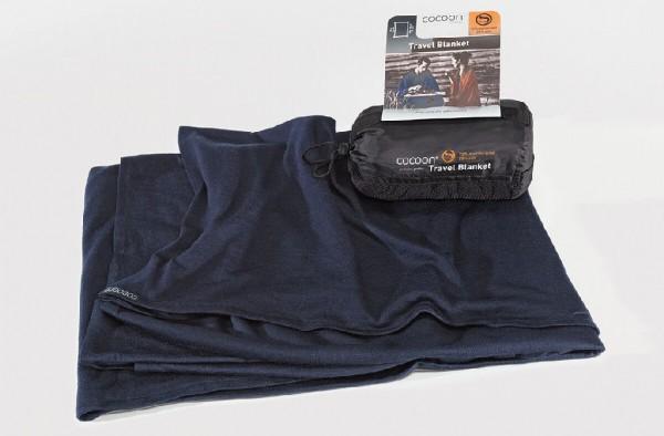 Cocoon Reisedecke Travel Blanket Wool/Silk - Decke aus Merinowolle mit Seide - MWSB