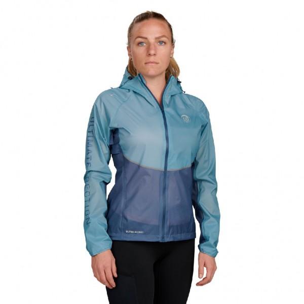 Ultimate Direction Women's Ultra Jacket - Regenjacke, Laufjacke - 83464521-0952 Sea Blue