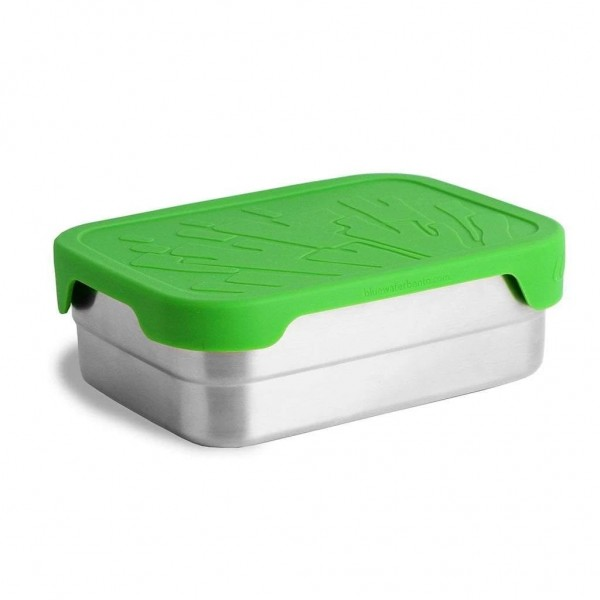 ECO Lunchbox Splash Box XL - Edelstahldose mit Silikondeckel - BWBSX