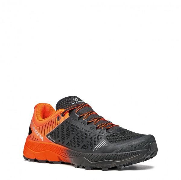 Scarpa Spin Ultra GTX Herren Laufschuh Trail - 33072G-M-0924 - Farbe Orange Fluo/Black