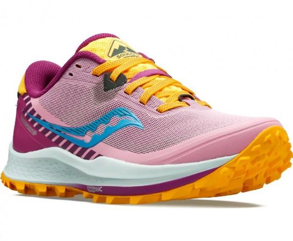 Saucony Peregrine 11 Damen Laufschuh Trail - S10641-26 Farbe Future Pink