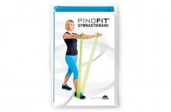PINOFIT® Gymnastikband Azure / Blau – Widerstand extra stark - Länge 2 Meter