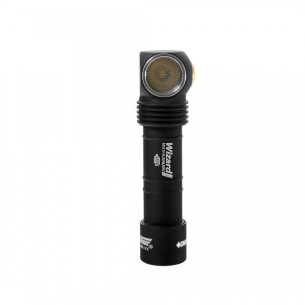 Armytek Wizard Pro Magnet USB Mehrzwecklampe - Stirnlampe (kaltes Licht) - F05501SC