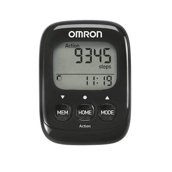Omron Walking Style IV Schrittzähler HJ-325-EBK - Farbe Schwarz 36300009