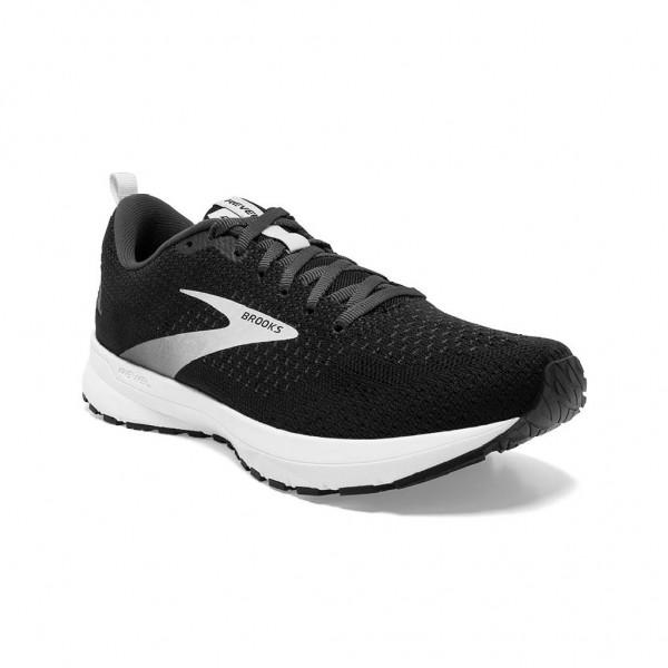 Brooks Revel 4 Damen Laufschuh Neutral - 120337 1 B 063 - Farbe Black/Oyster/Silver
