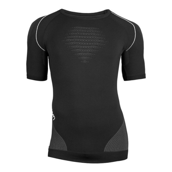 UYN Evolutyon UW Shirt Herren Funktionsunterwäsche SS - U100039-B472 Blackboard/Antracite/White