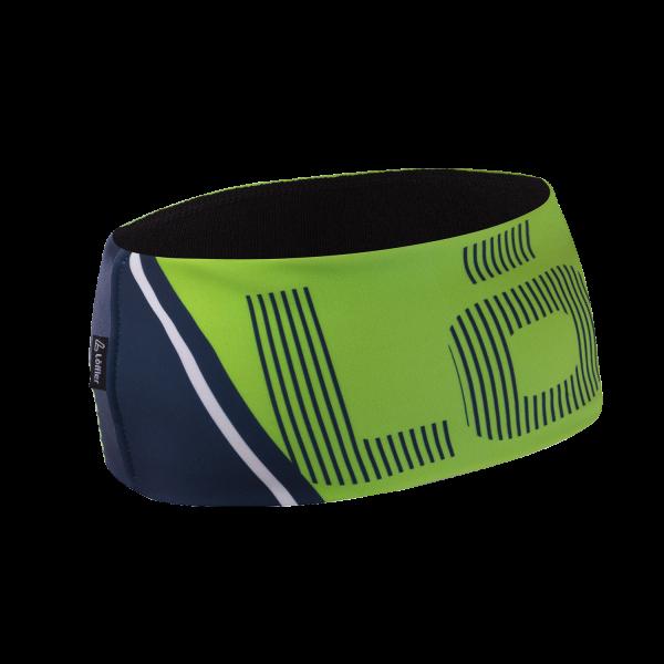 Löffler Speed Design Headband Wide, breites Stirnband One Size - 24044 330 Light Green