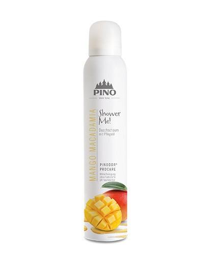 Pino Shower Me! Duschschaum Mango Macadamia 200 ml