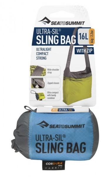 Sea to Summit Sling Bag  Schultertasche 16 l m. Reißverschluss  versch. Farben