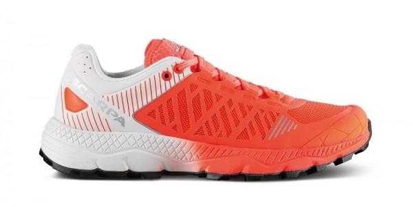 Scarpa Spin Ultra Damen Laufschuh Trail - 33072-L-0259 - Farbe Bright Red/White