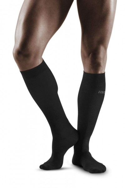 CEP Allday Recovery Socks Herren Kompressionsocke - Schwarz WP50C6