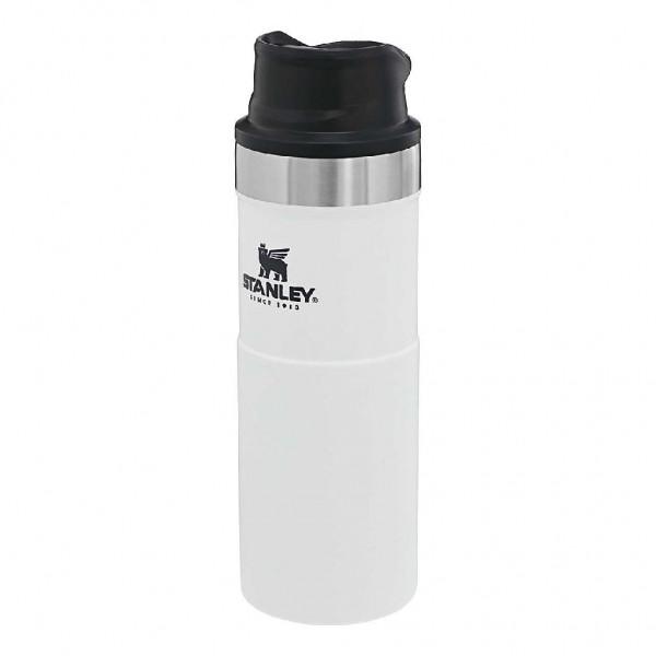 Stanley Classic Trigger-Action Travel Mug 0,47 Liter - Edelstahl Thermobecher mit Einbhandbedienung - 66780