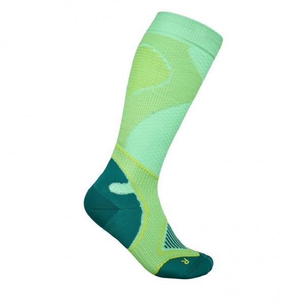 Bauerfeind Outdoor Performance Compression Socks - Damen Wandersocken - Farbe Grün