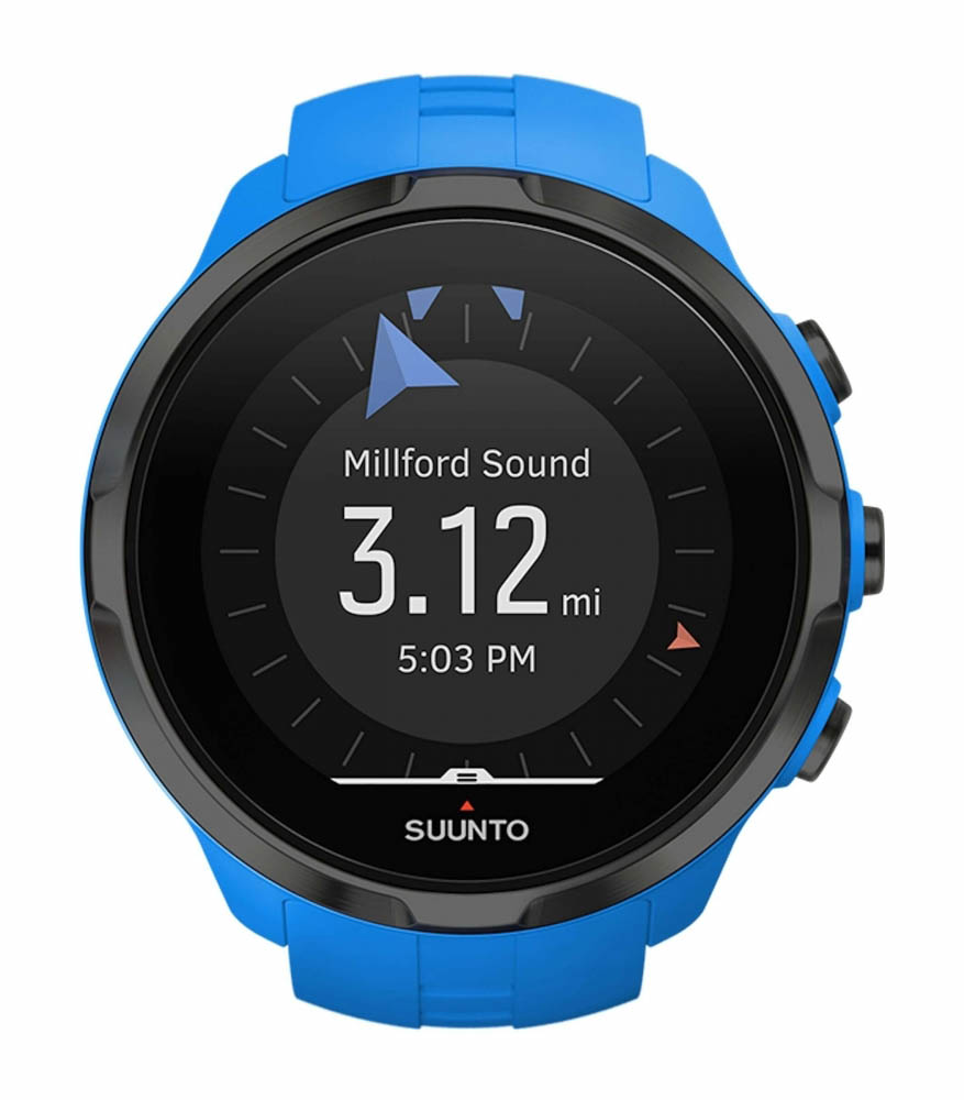 Suunto GPS-Uhr Spartan Sport Wrist HR Blau