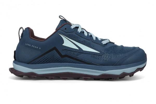 Altra Lone Peak 5 Damen Laufschuh Trail - AL0A4VR7408 - Farbe Majolica Blue