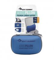 Sea to Summit Aeros Premium Lumbar Support Reisekissen Ledennwirbelstütze - Navy Blue