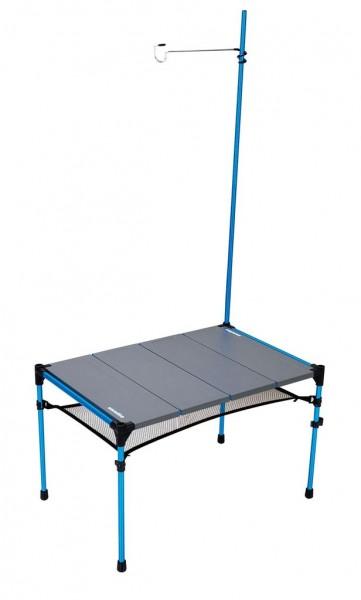 Snowline Cube Tabel M4, Aluminium-Falttisch, Campingtisch mit Lampenaufhängung - 3961-000 Aluminium