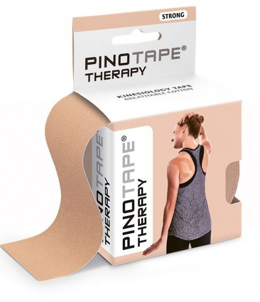 Pinotape Therapy Light Beige - Baumwolle 5cm x 5m - 45032