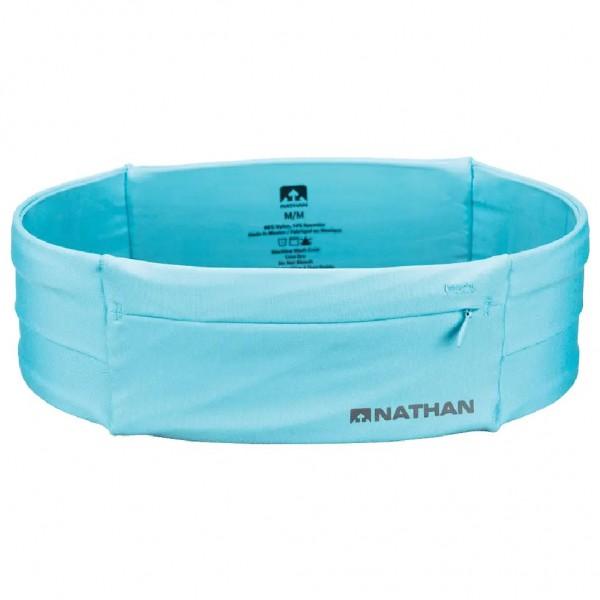 Nathan The Zipster Laufgürtel mit Reißverschluss Hellblau