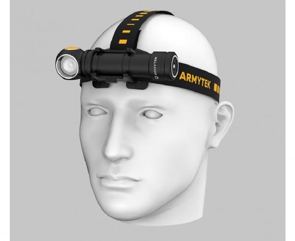 Armytek Wizard C2 Pro MAX Magnet USB, Mehrzweckleuchte - Stirnlampe (kaltes Licht) - F06701C