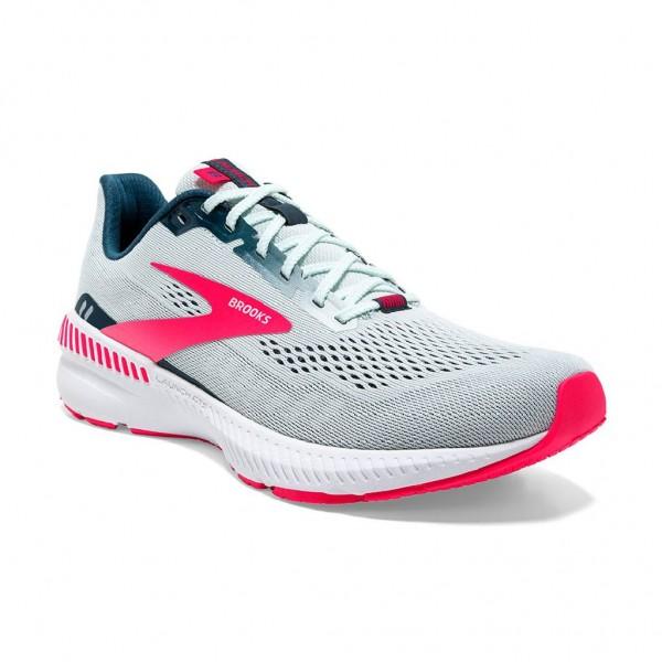 Brooks Launch 8 GTS Damen Laufschuh Stabilität - 120346 1B 110 Farbe Ice Flow/Navy/Pink