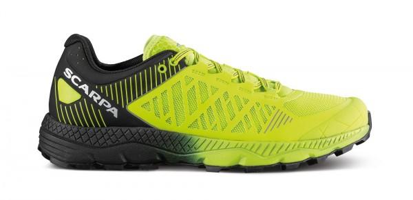 Scarpa Spin Ultra Herren Laufschuh Trail - 33072-M-0152 - Farbe Acid Lime/Black
