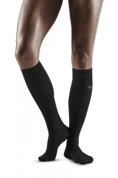 CEP Allday Recovery Socks Damen Kompressionsocke - Schwarz WP40C6