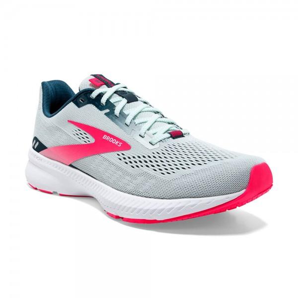 Brooks Launch 8 Damen Laufschuh Lightweight - 120345 1B 110 Ice Flow/Navy/Pink