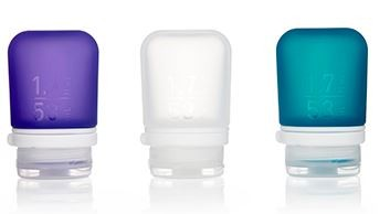 humangear 'GoToob' 3er Pack 3x53ml transparent, violett, türkis