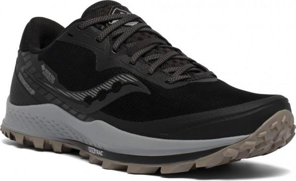 Saucony Peregrine 11 GTX Herren Laufschuh Trail - S20643-45 Farbe Black / Gravel