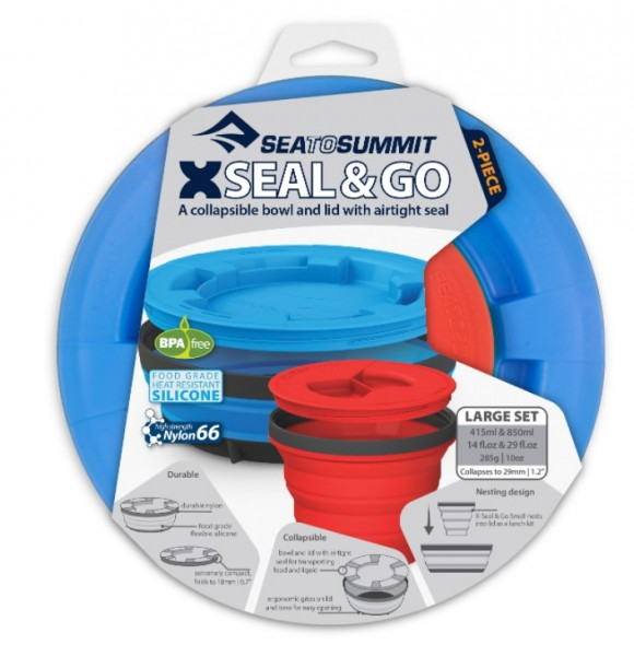 Sea to Summit X Seal & Go X-Seal & Go Large Royal Blue / Red