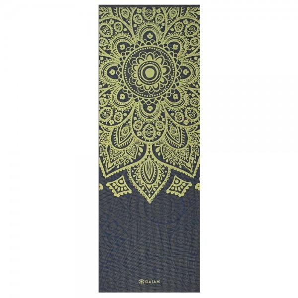Gaiam Yoga Matte Mat Premium Sundial Layers  6mm - 62432